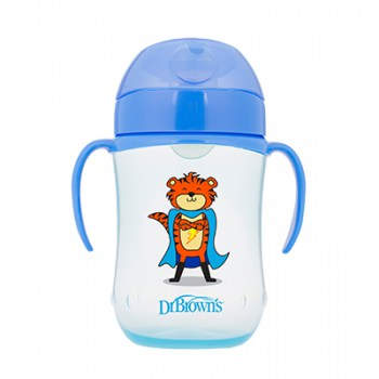 TC91025-INTL_Product_9oz_270ml_Soft_Spout_Toddler_Cup_Blue_Tiger_Superhero