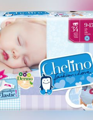 Chelino Fashion & Love 34 Pañales Talla 4